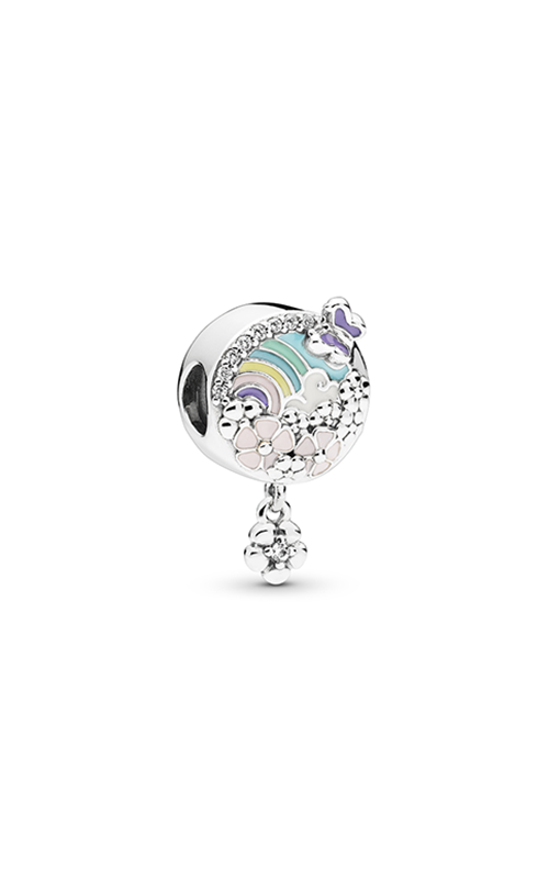 Pandora Flower Color Story Charm Mixed Enamel & Clear CZ 797999ENMX product image