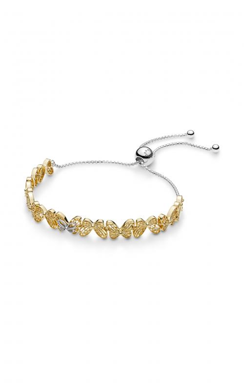 aea0bd0eb3b73 Browse PANDORA Shine™ Openwork Butterflies Sliding Bracelet 567957 ...
