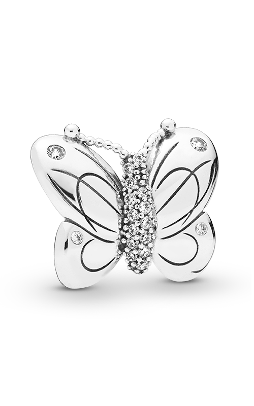 PANDORA Decorative Butterfly Charm Clear CZ 797880CZ product image
