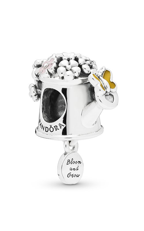 PANDORA Blooming Watering Can Charm Mixed Enamel & Clear CZ 797873ENMX product image