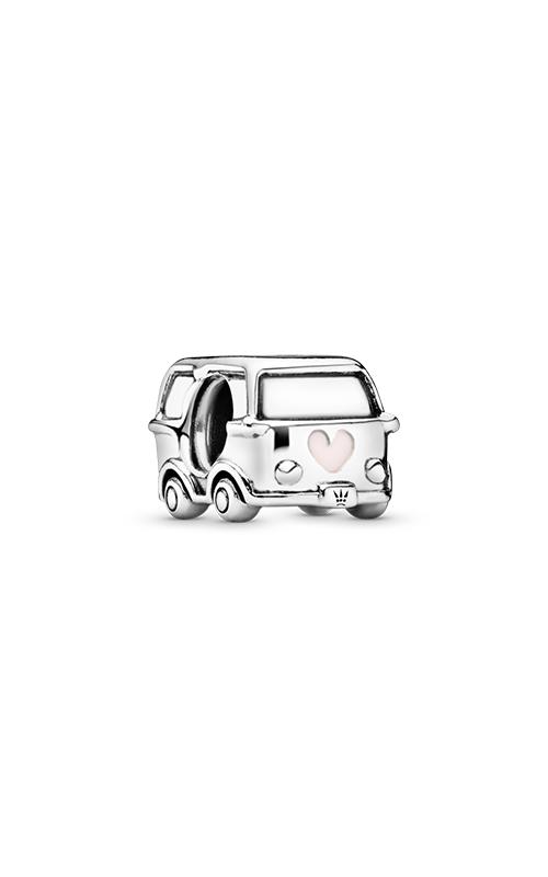 Pandora Camper Van Charm Transparent Pale Pink Enamel 797871EN160 product image