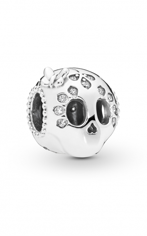 Pandora Sparkling Skull Charm Clear CZ 797866CZ product image