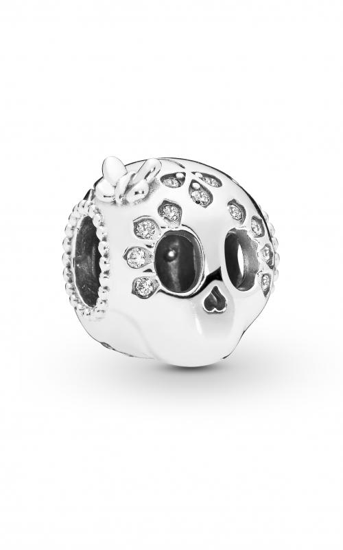 Pandora Sparkling Skull Charm Clear CZ 797866CZ product image
