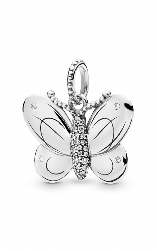Pandora Decorative Butterfly Pendant Clear CZ 397933CZ product image
