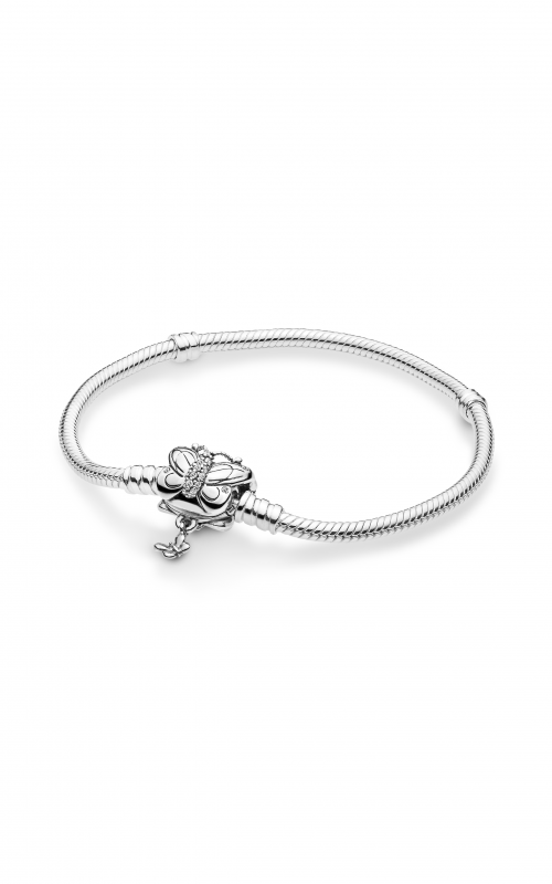 PANDORA Decorative Butterfly Bracelet Clear CZ 597929CZ-18 product image