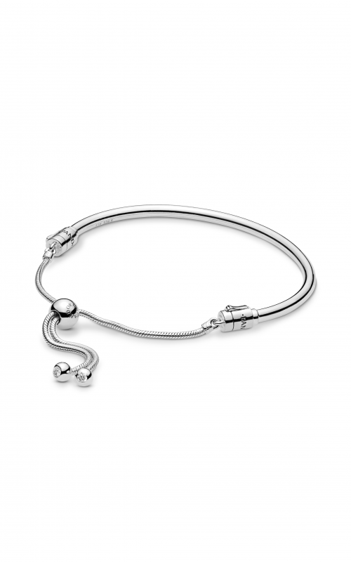 PANDORA Sliding Bangle Bracelet Clear CZ 597953CZ-3 product image