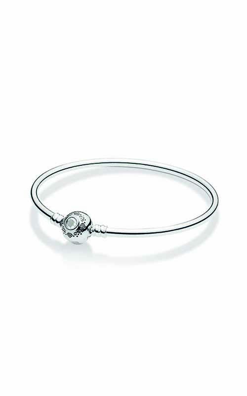 PANDORA Disney Princess Jasmine & Aladdin Bangle Bracelet 598037CZ-17 product image