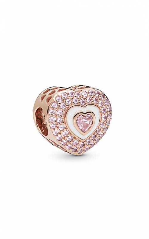 PANDORA Rose™ Hearts on Hearts Charm 788097NPR product image