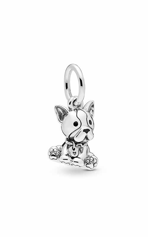 PANDORA Bulldog Puppy Dangle Charm 798008EN16 product image
