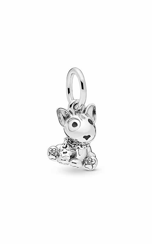 PANDORA Bull Terrier Puppy Dangle Charm 798010EN16 product image