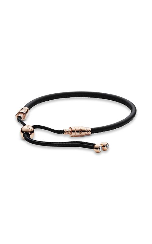 Sliding Leather Bracelet PANDORA Rose™ 588059CBK-2 product image