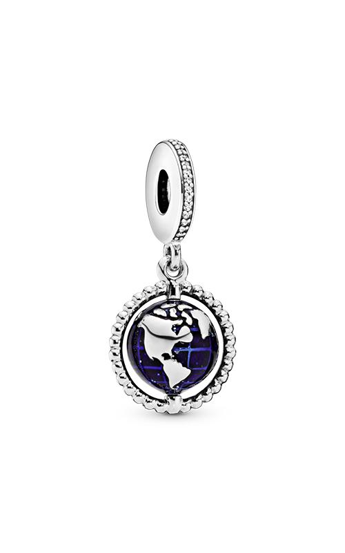 Pandora Spinning Globe Dangle Charm 798021CZ product image