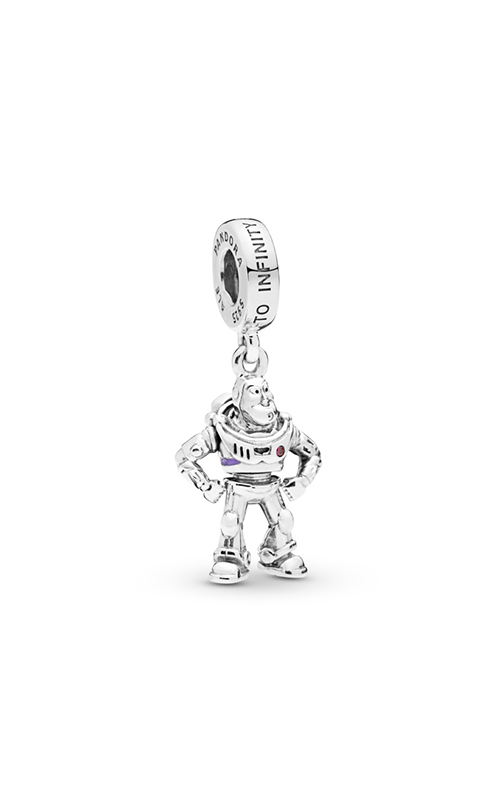 PANDORA Disney Pixar Toy Story Buzz Lightyear Dangle Charm 798042CZR product image