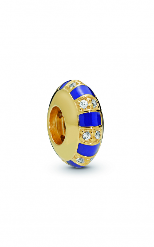 Exotic Stones & Stripes Spacer PANDORA Shine™ 768029CZ product image