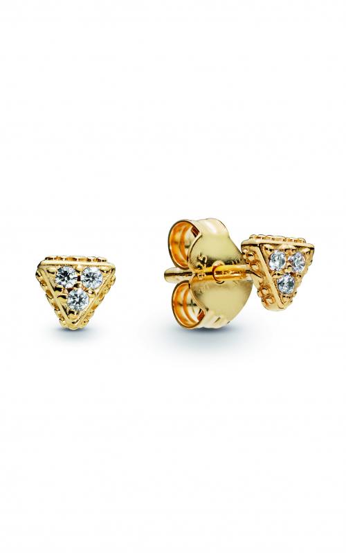 Sparkling Triangles Stud Earrings PANDORA Shine™ 268030CZ product image