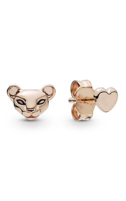 Lion Princess & Heart Stud Earrings PANDORA Rose™ 288022EN16 product image