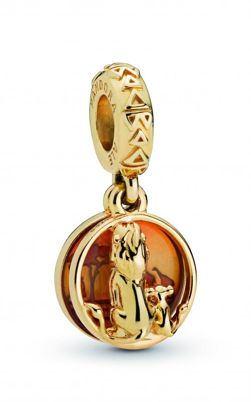 Pandora Disney Simba & Mufasa Sunset Dangle Charm 768262ENMX (Retired) product image