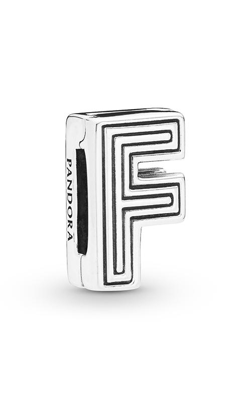 Pandora Reflexions™ Letter F Clip Charm 798202 (Retired)