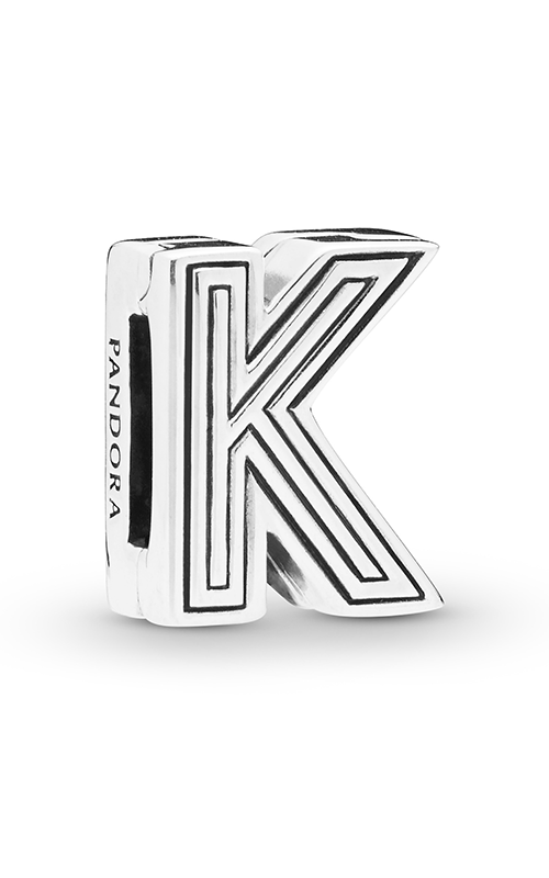Pandora Reflexions™ Letter K Clip Charm 798207 product image
