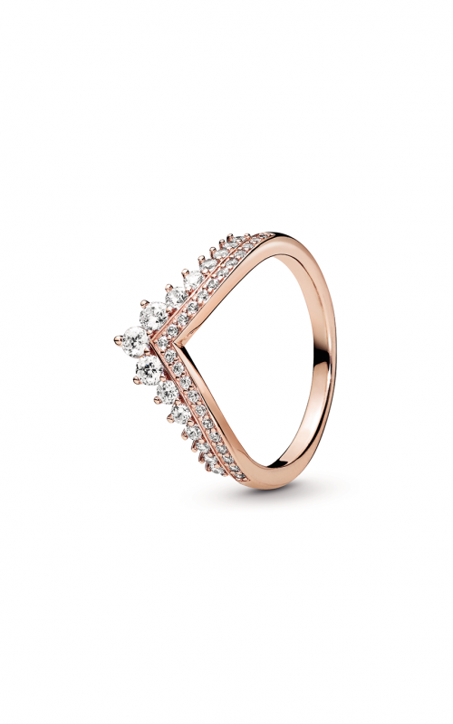 Pandora Rose™ Princess Wishbone Ring 187736CZ-48 product image