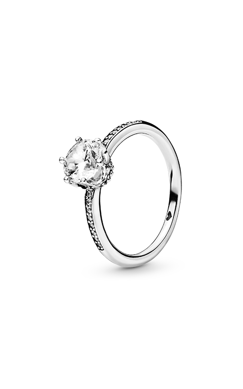 Pandora Clear Sparkling Crown Ring 198289CZ-48 product image