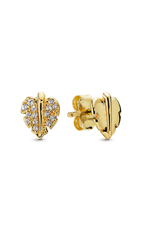 Pandora Shine™ Shining & Sparkling Leaf Stud Earrings 268334CZ product image
