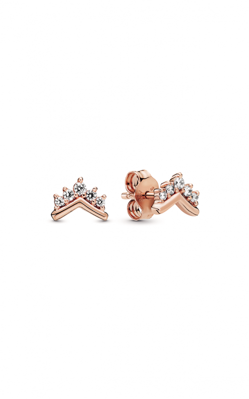 Pandora Rose™ Tiara Wishbone Stud Earrings 288274CZ product image