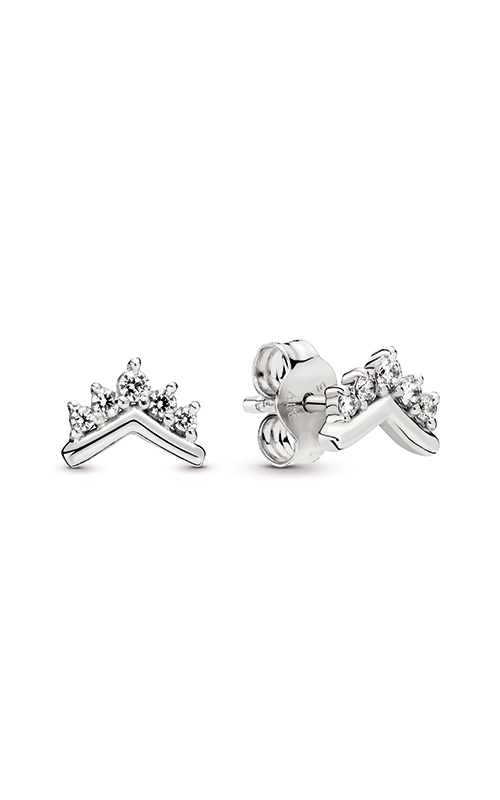 Pandora Tiara Wishbone Stud Earrings 298274CZ product image