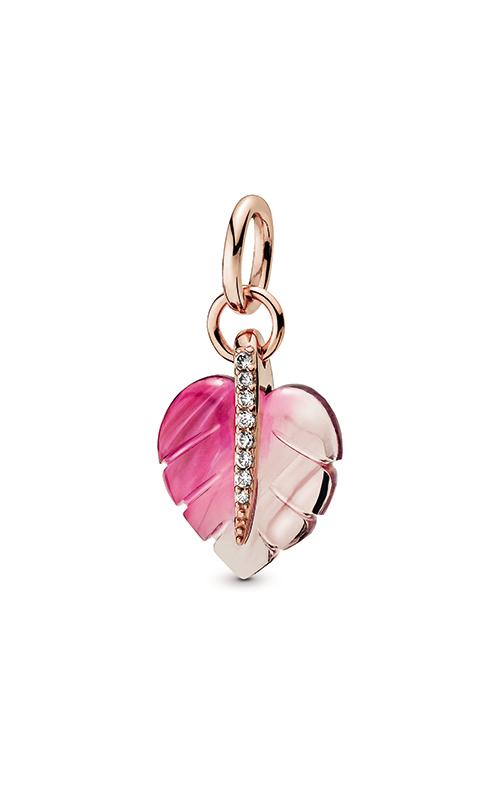 Pandora Rose™ Pink Murano Glass Leaf Pendant 388258PMU product image