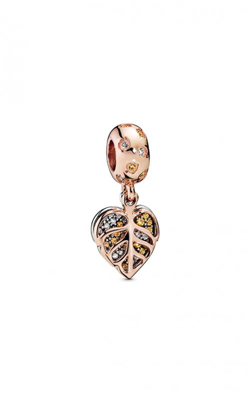Pandora Rose™ Sparkling Leaves Dangle Charm 788247CZ product image