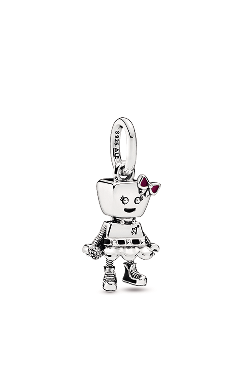 Pandora Bella Bot Punk Band Dangle Charm 798245ENMX product image