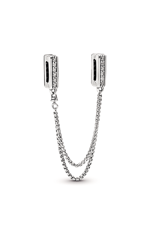 Pandora Reflexions™ Sparkling Safety Chain Clip Charm 798269CZ product image