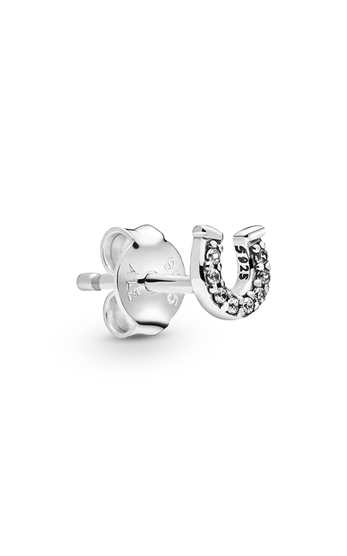 Pandora My Lucky Horseshoe Single Stud Earring 298369CZ product image