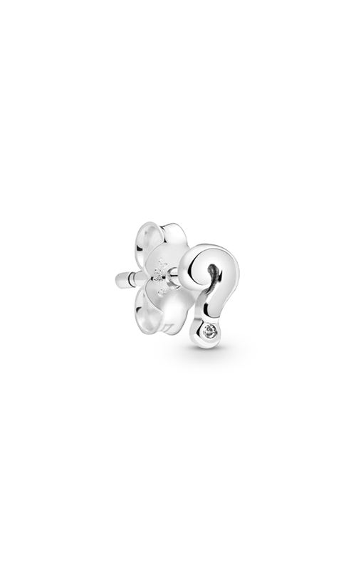 Pandora My Questions Single Stud Earring 298386CZ product image