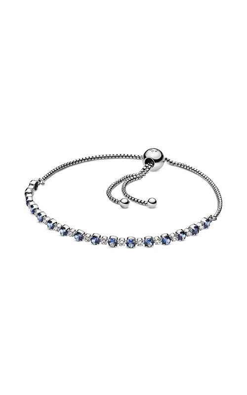 Pandora Sparkle Slider Bracelet, Blue Crystal & Clear CZ 598517C01-1 product image