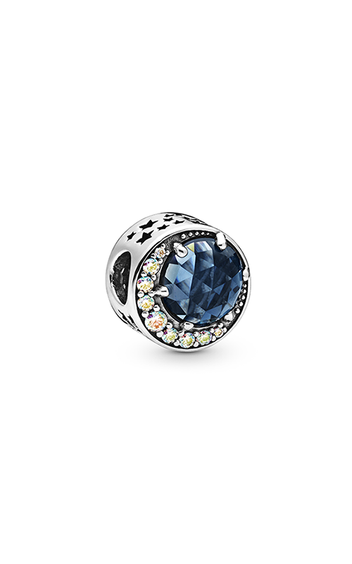 Pandora Moon & Night Sky, Blue Crystal & Clear CZ Charm 798524C01 product image