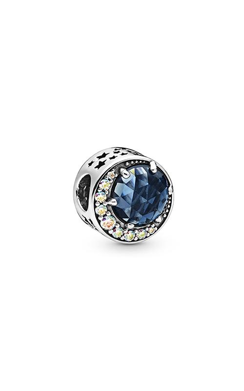 Pandora Moon & Night Sky, Blue Crystal & Clear CZ Charm 798524C01 product image