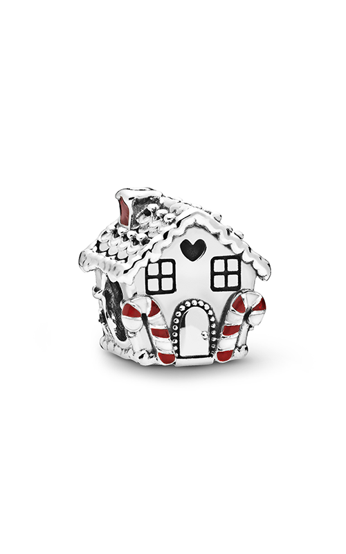 Pandora Gingerbread House, Multi-Colored CZ & Enamel Charm 798471C01 product image
