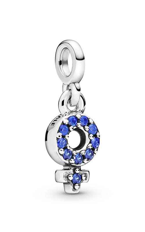 Pandora Me My Girl Pride, Blue Crystal Dangle Charm 798382C02 product image