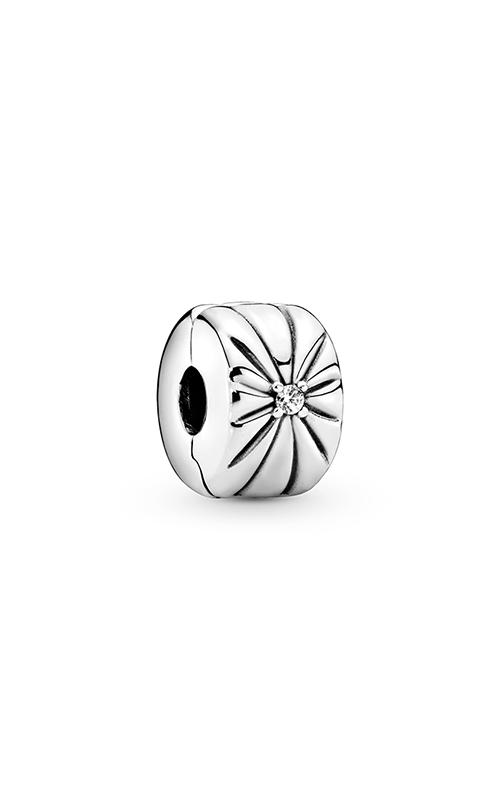 Pandora Sparkling Sunburst, Clear CZ Clip Charm 798614C01 product image