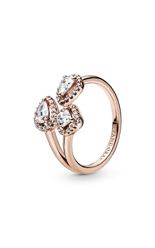 Pandora Geometric Shapes, Clear CZ Fashion Ring 188494C01-48 product image