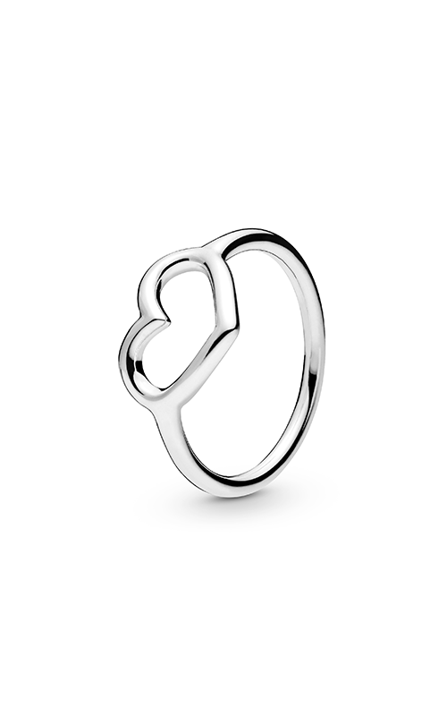 Pandora Polished Open Heart Fashion Ring 198613C00-48 product image