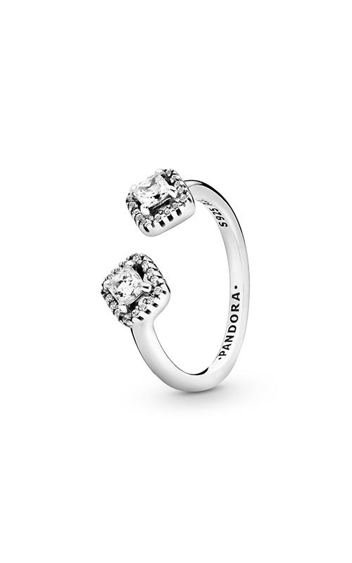 Pandora Square Sparkle, Clear CZ Fashion Ring 198506C01-48 product image