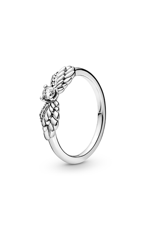 Pandora Sparkling Angel Wing, Clear CZ Fashion Ring 198500C01-48 product image