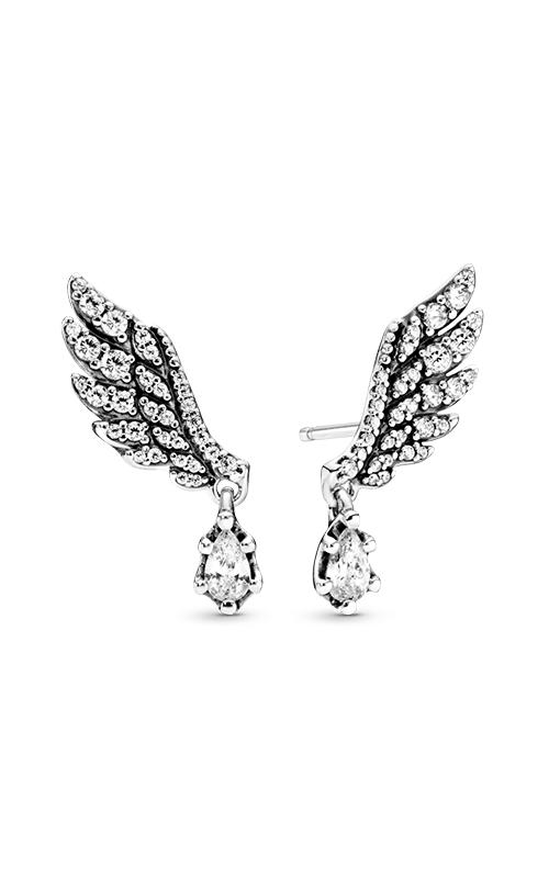 PANDORA Dangling Angel Wing Drop Earrings 298493C01 product image