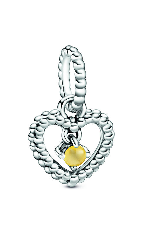 Pandora Honey Beaded Heart Dangle Charm 798854C11 product image