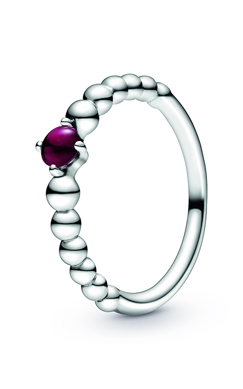Pandora Dark Red Beaded Ring 198598C08-48 product image