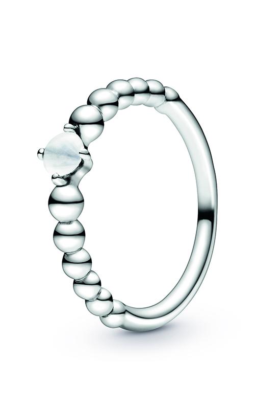 Pandora Milky White Beaded Ring 198598C04-48 product image