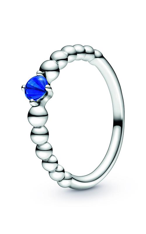 Pandora Sea Blue Beaded Ring 198598C12-48 product image