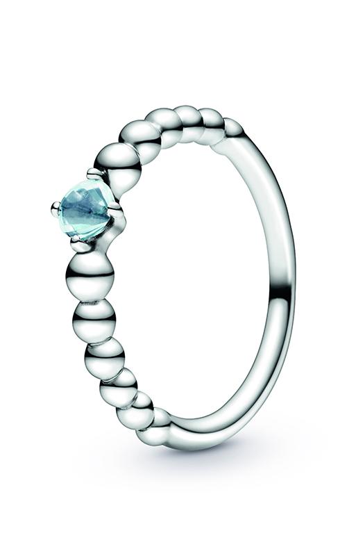 Pandora Aqua Blue Beaded Ring 198598C01-50 (Retired) product image